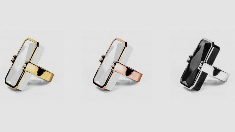 Fitbit Style Device In A Ring