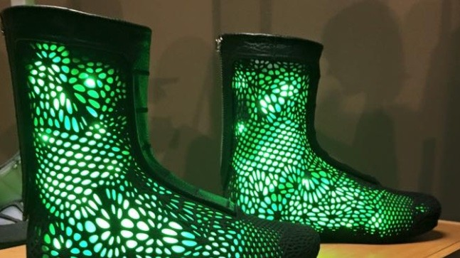 These Sols Adaptiv High Tops Are 3d Printed Robotic And