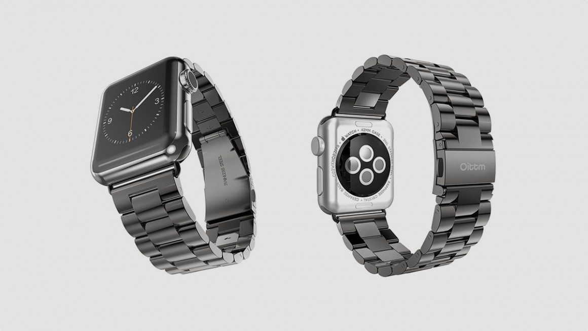 best apple watch straps third party bands to pimp your watch for less oittm stainless steel metal