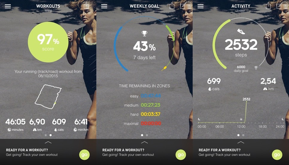 plato acero triste  Adidas miCoach Fit Smart review