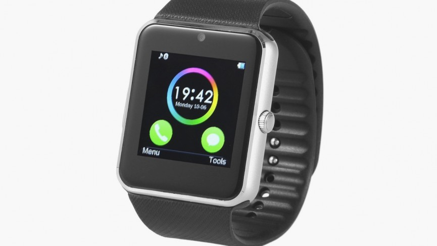 a87d2e35c6b7 The GT08 is a square faced smartwatch modelled after the Apple Watch