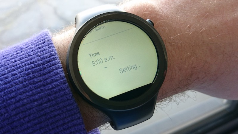android wear voice command