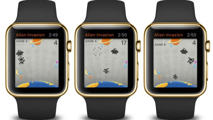 Retro Games in Smartwatch for Apple Watch