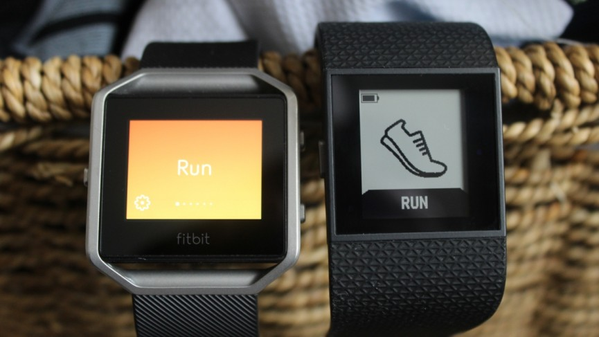 Fitbit Blaze v Fitbit Surge: Battle of the fitness watches