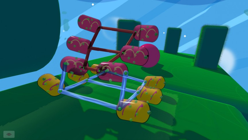 Build A Contraption Physics Game