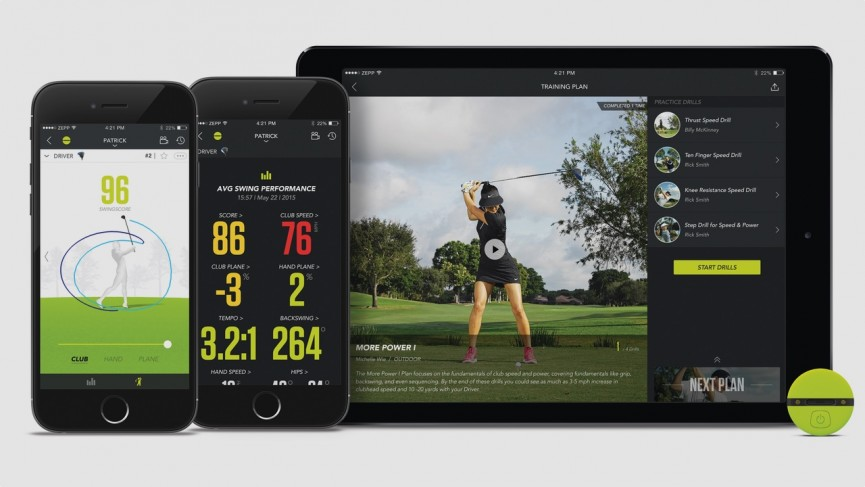 Zepp 2 offers new design and enhanced coaching for golf and