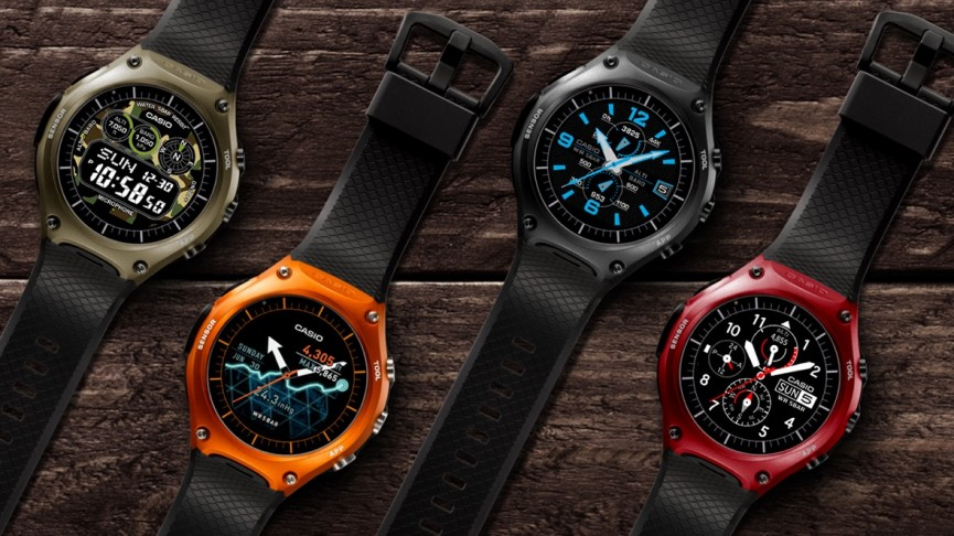 Casio Smart Outdoor Wsd F10 V Nixon The Mission Android
