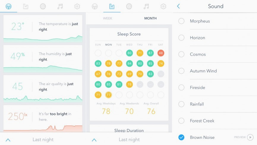 Sense sleep tracker review