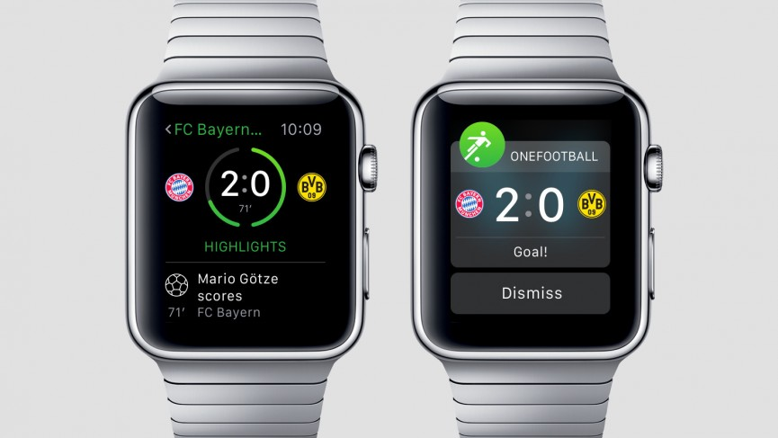 Onefootball Apple Watch