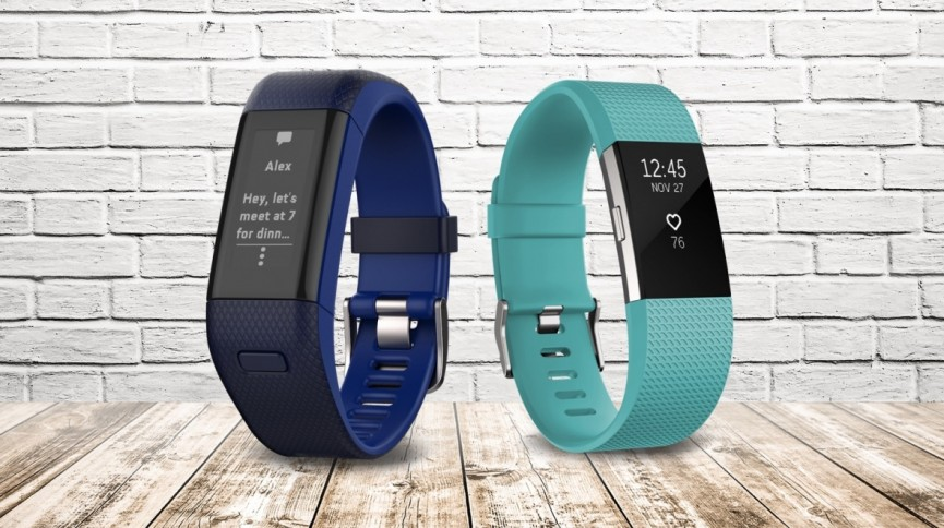 Fitbit Charge 2 vs Garmin Vivosmart HR Plus