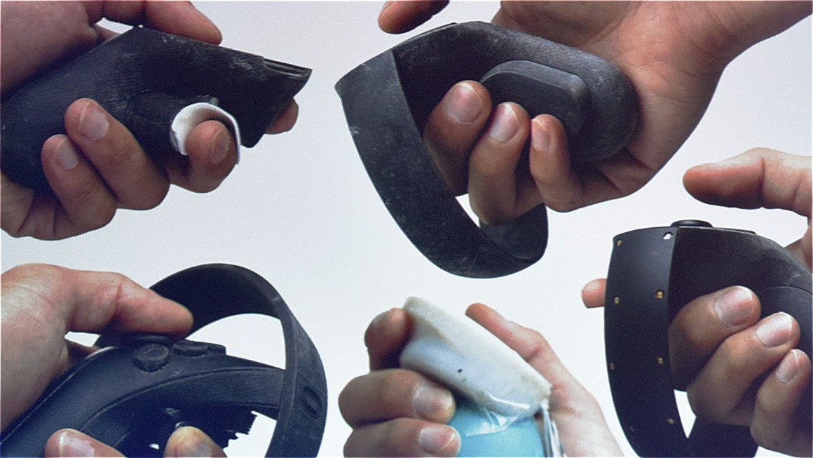 oculus touch prototypes