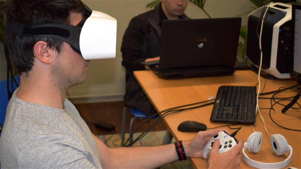 Fove VR headset review