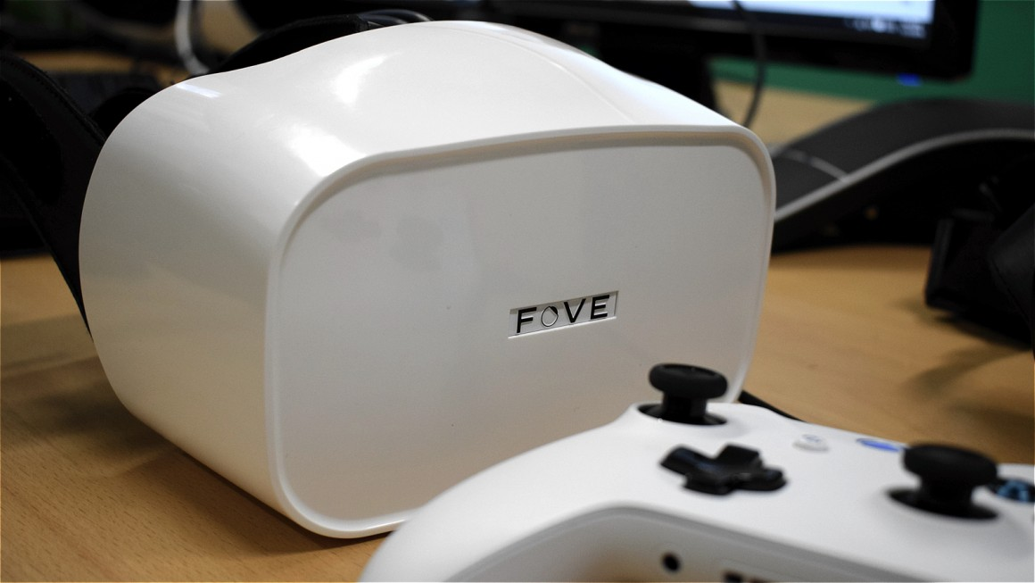 Fove talks about the power of the eyes, proving Oculus wrong, and working with Valve