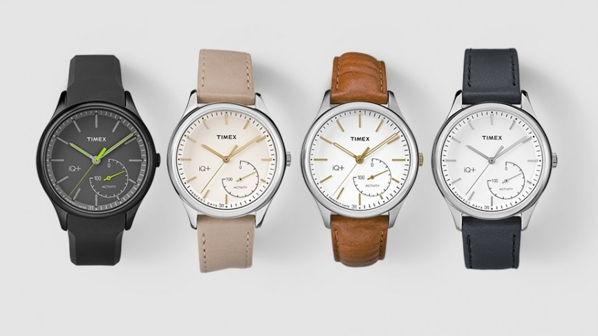 Timex's new IQ+ Move smart analogue watch