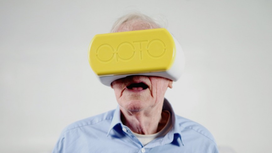Meet Opto, the mobile headset looking to bring VR to the masses