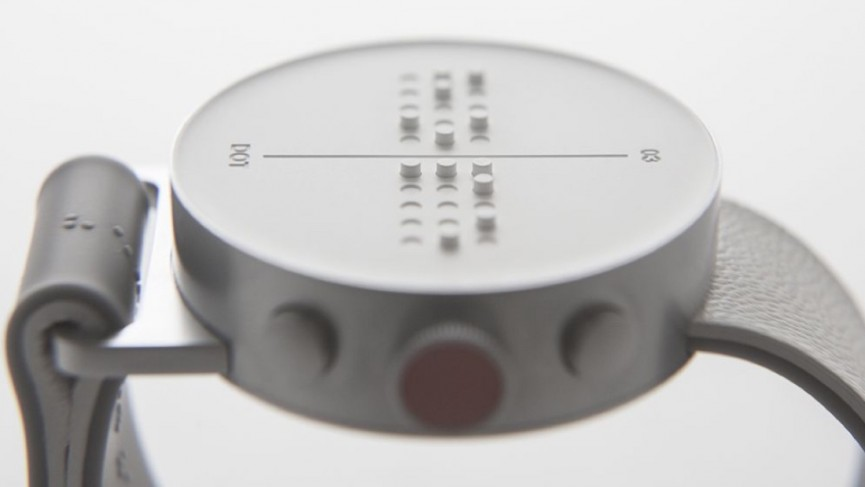 Dot is a Braille smartwatch to help the visually impaired