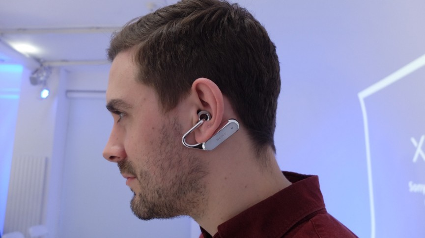 Sony's Xperia Ear Open Style concept lets the world in