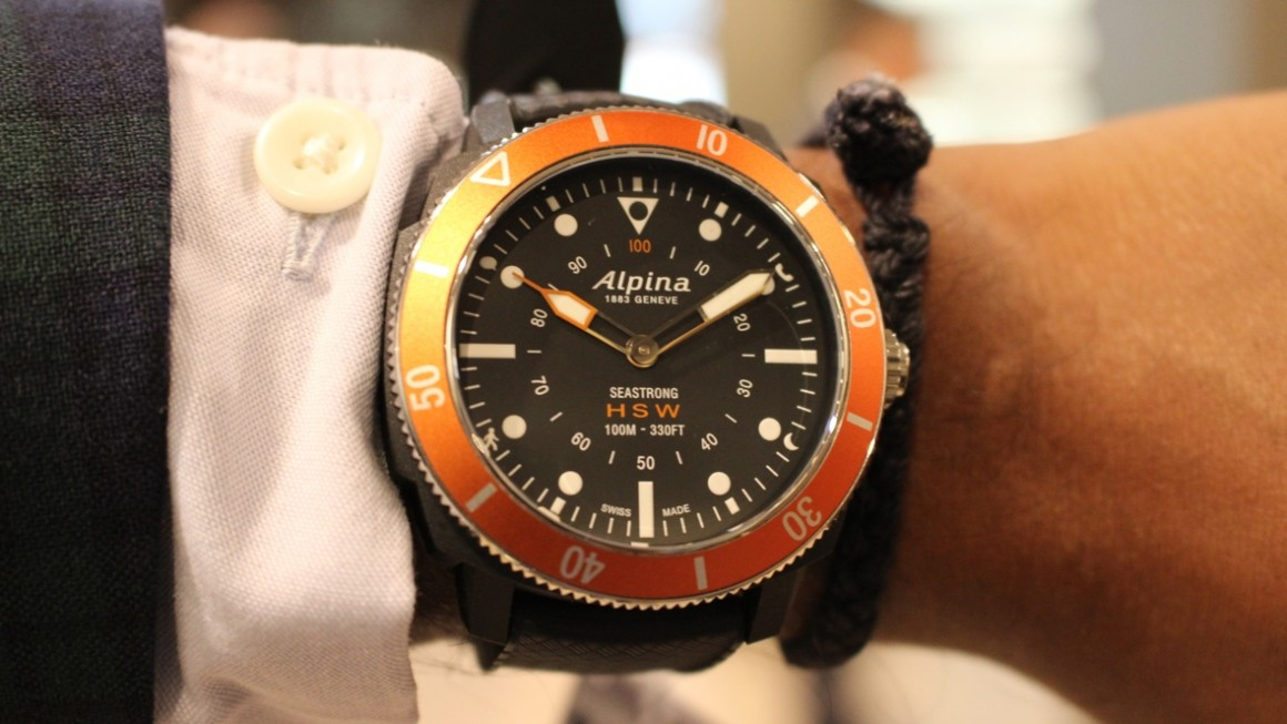 Alpina Seastrong Horological Smartwatch: A diver-style hybrid done right