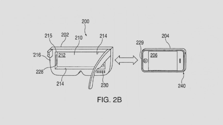 Apple patent hints at remote controlled iPhone VR headset