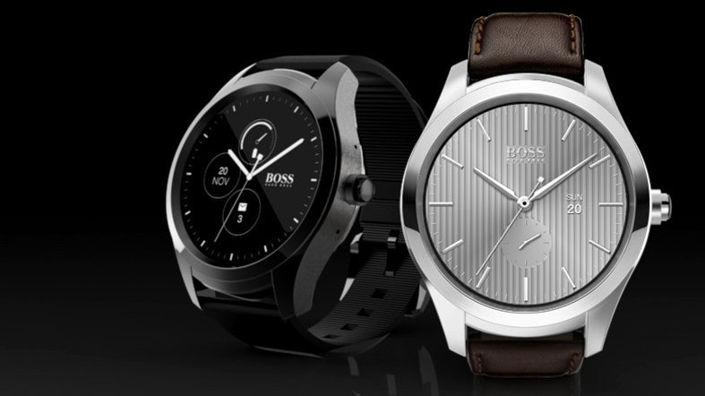 Hugo Boss Touch is the designer's first Android Wear smartwatch