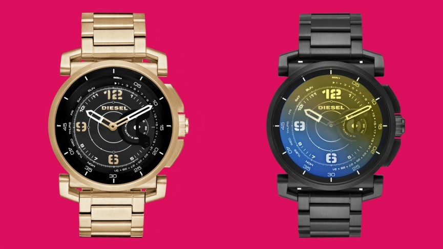 Diesel launches first touchscreen smartwatch and adds two hybrids to the collection