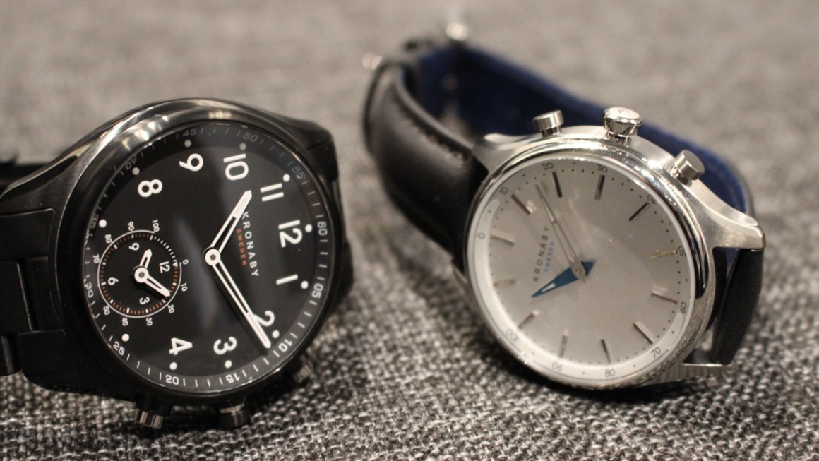 Kronaby hybrid smartwatch collection