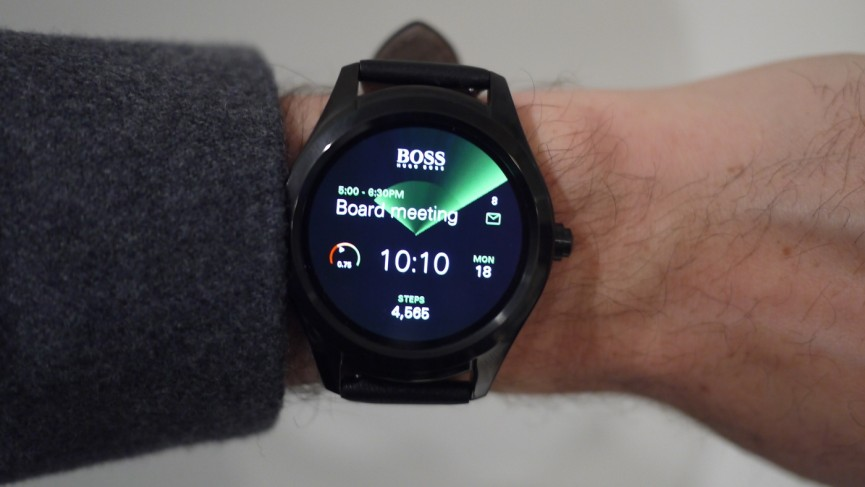 Hugo Boss Touch effortlessly ups the Android Wear design stakes