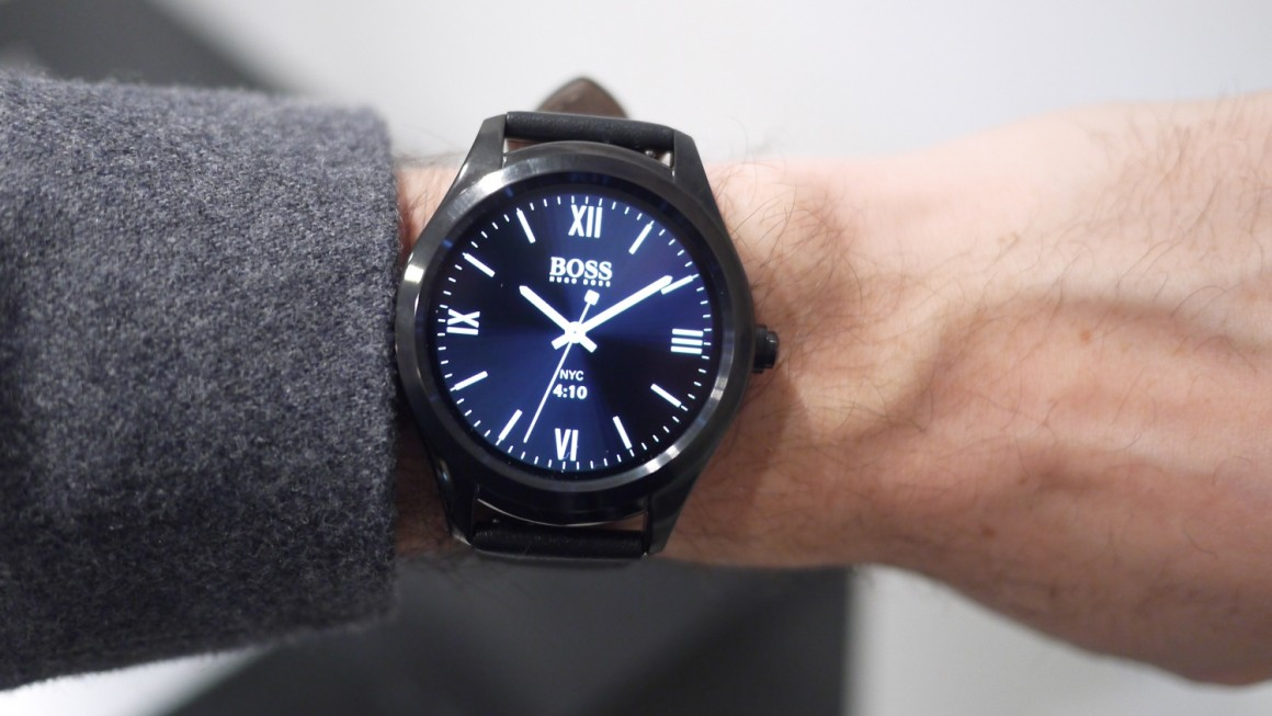 Hugo Boss Touch effortlessly ups the Android Wear design ...