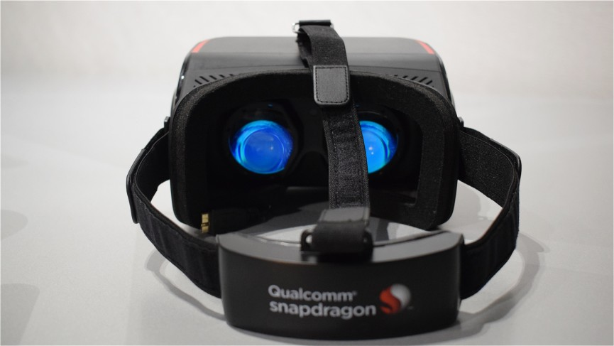 Taking Qualcomm's kitchen-sink VR headset for a spin
