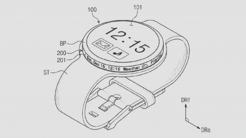 Samsung could soon bring a rotary display to its smartwatches