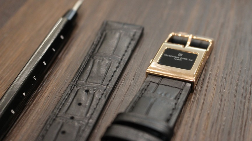 The beautiful Frederique Constant E-Strap quietly launched and no-one noticed