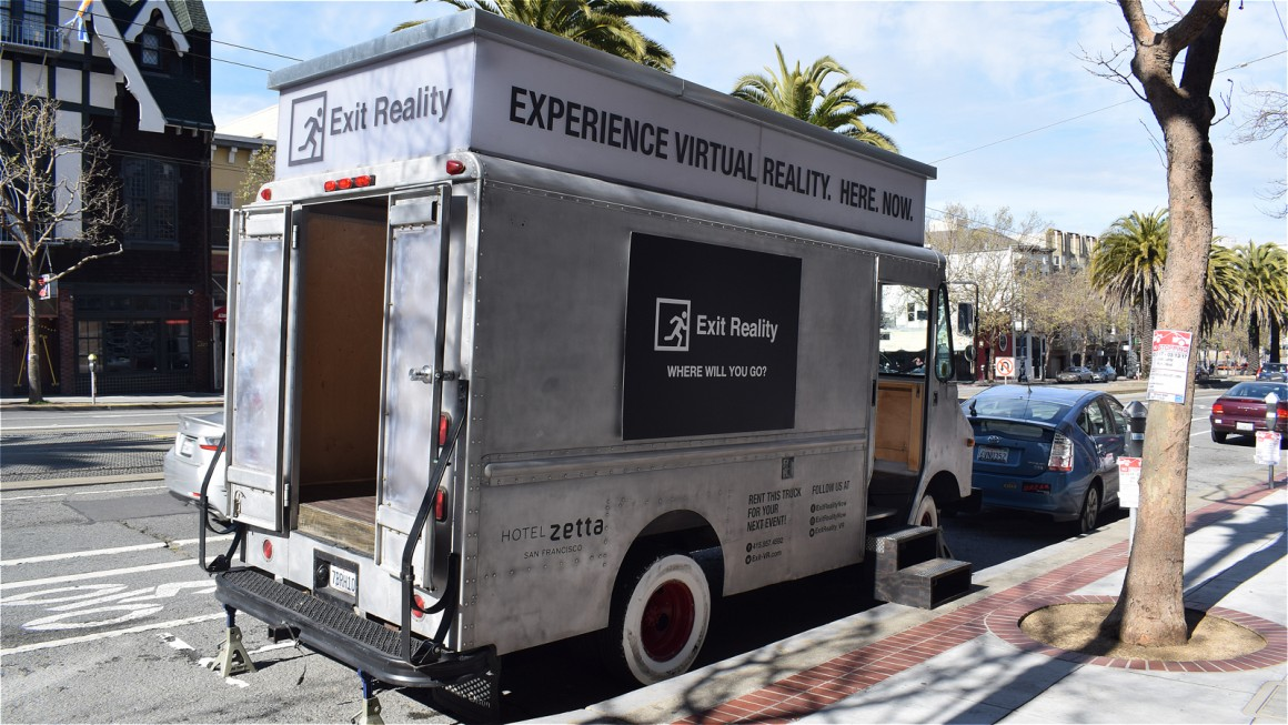 This truck will deliver virtual reality to your doorstep