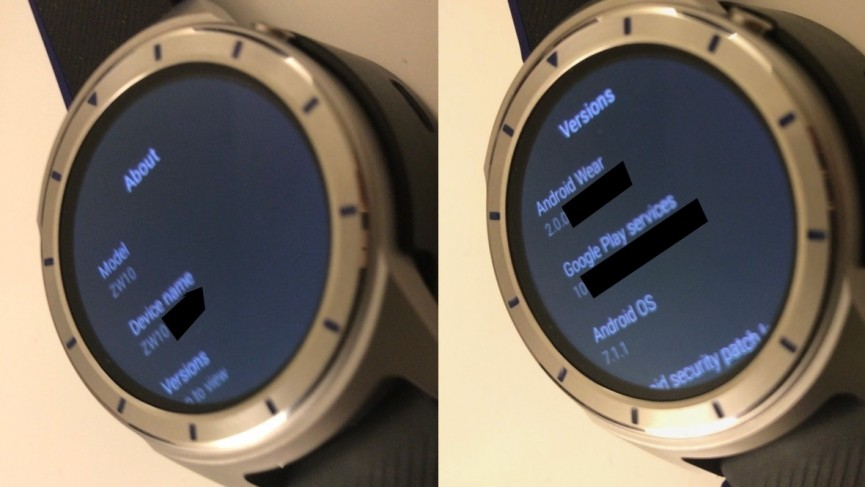 ZTE's Quartz Android Wear smartwatch gets snapped