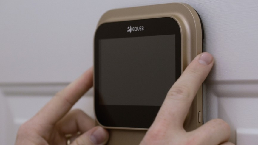 Eques' wants the Veui to be the smart doorbell for the whole family