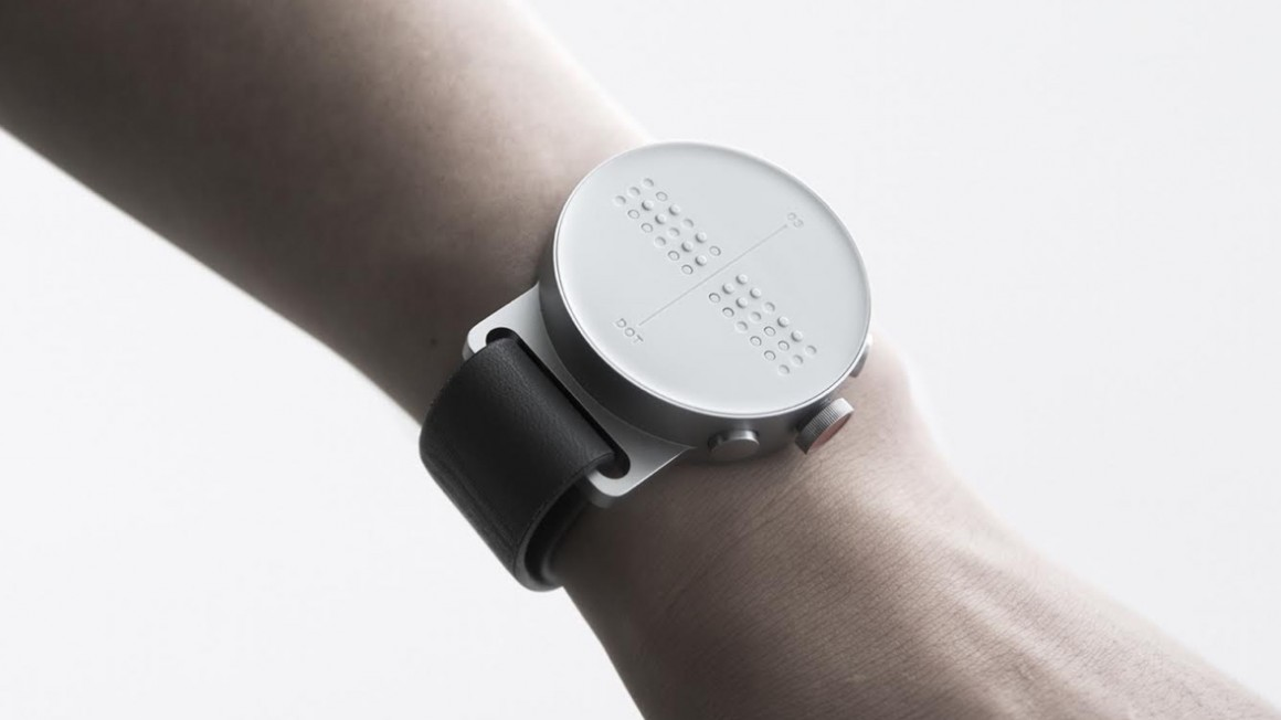 Dot's challenge to design a smartwatch for the blind
