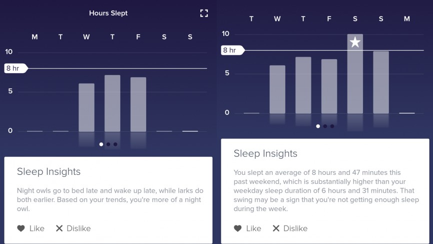 Spending some quality time with Fitbit's new sleep features