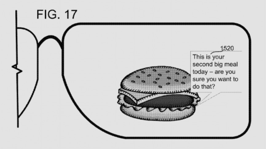 Microsoft smart glasses will warn you to step away from that burger