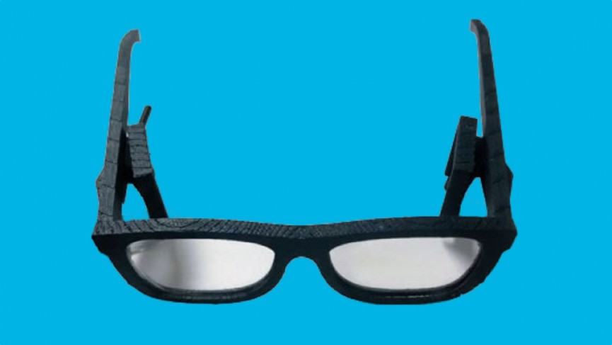 Microsoft reveals prototype augmented reality glasses with thick frames