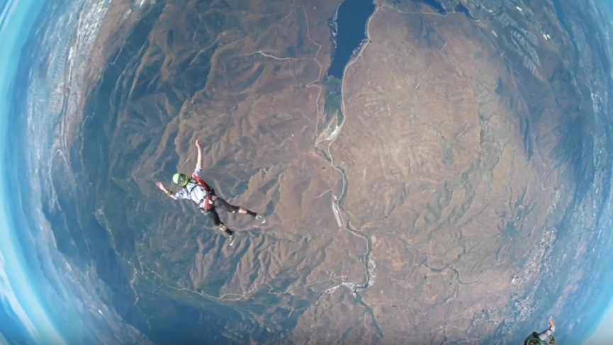 No plane, no problem: I went skydiving in VR and it was goddamn ...