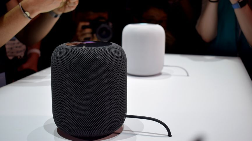 Apple's smart speaker is called HomePod, and it's putting music front and center