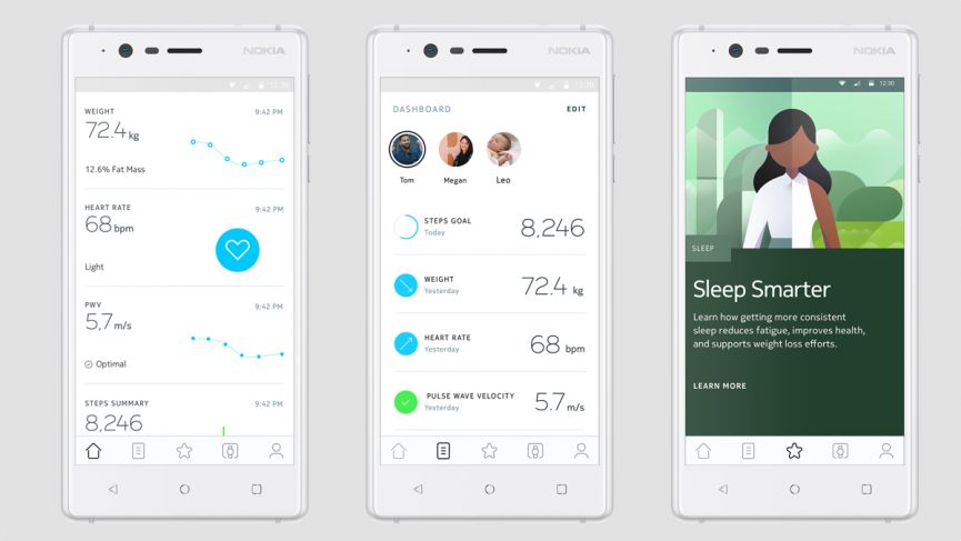 Withings is now officially Nokia, and it's going to take your health more seriously