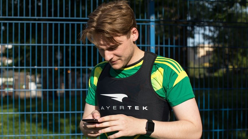 We tested out Catapult's Playertek smart vest