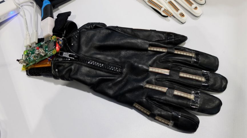 This smart glove that turns sign language into speech could go on sale next year
