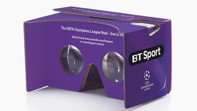 Field of view: How to watch the Champions League final in VR