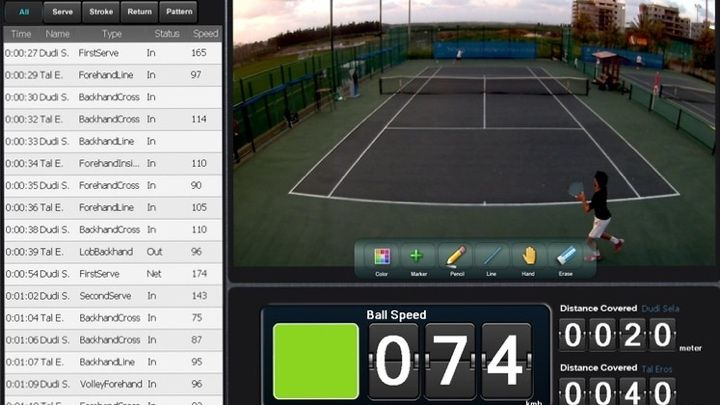 Best tennis trackers for a better technique