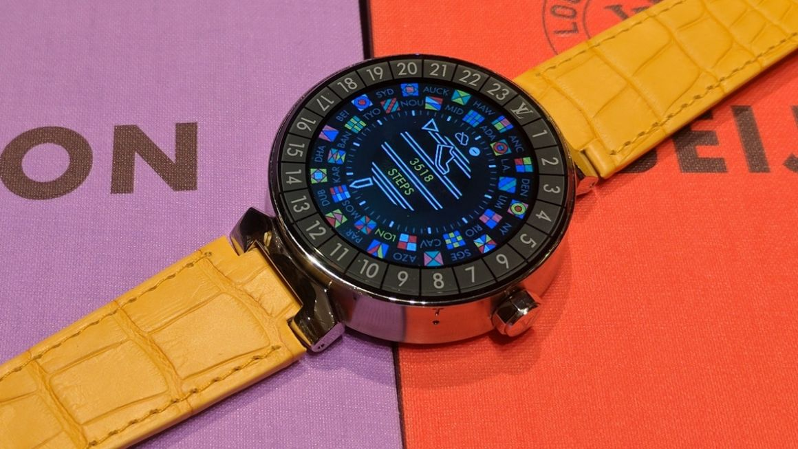 Louis Vuitton Tambour Horizon first look: A luxury smartwatch for travellers