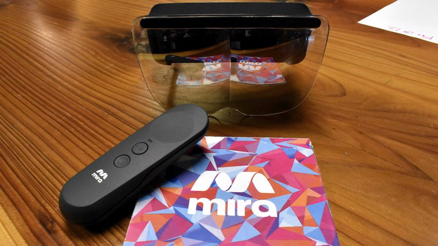 Hands on with Mira's affordable and mobile Prism AR headset