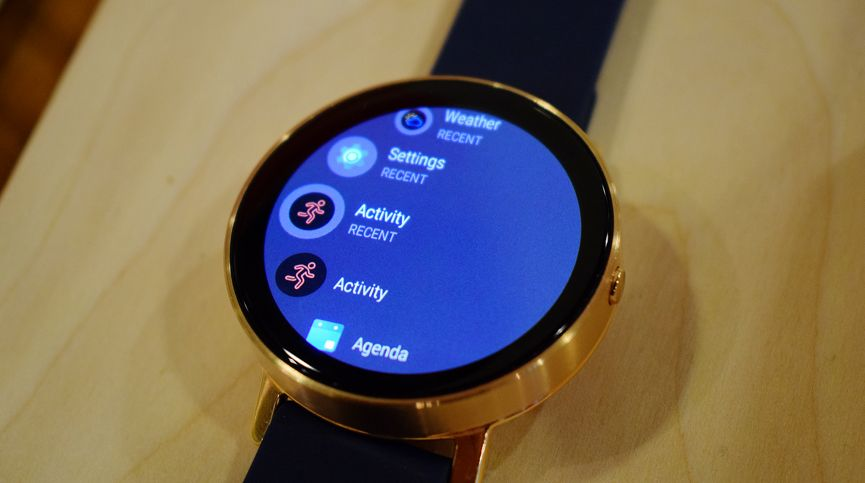 Misfit Vapor first look: A mix of Android Wear and