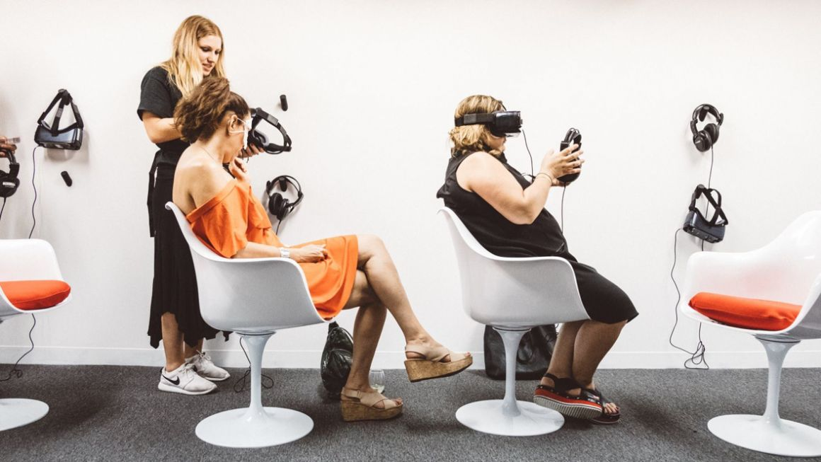 What it's like to spend a day at VR World, the virtual reality theme park