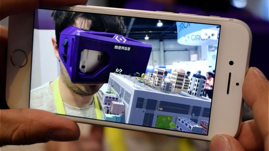 Merge thinks augmented reality is more fun when you can touch it